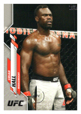 2020 Topps UFC 24 Uriah Hall - Middleweight