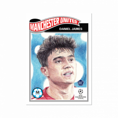 Fotbalová kartička Topps Living Set 298 Daniel James Manchester United