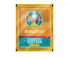 Panini EURO 2020 Tounament Edition Balíček samolepek Orange