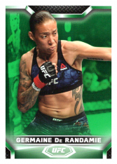 2020 Topps UFC Knockout 73 Germaine De Randamie - Bantamweight /88