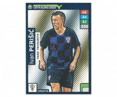 Fotbalová kartička Panini Adrenalyn XL Road to EURO 2020 -  Fans Favourite - Ivan Perisic - 237