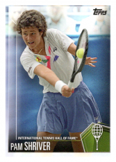 2019 Topps Tennis Hall of Fame 21 Pam Shriver