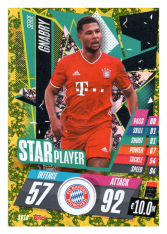 fotbalová kartička Topps Match Attax Champions League 2020-21 Star Player SP10 Serge Gnabry - FC Bayern München