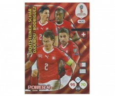 Fotbalová kartička Panini Adrenalynl XL World Cup Russia 2018 Power 4 405 Switzerland