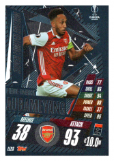 fotbalová kartička 2020-21 Topps Match Attax Champions League Extra Limited Edition LE2S Piere Emerick Aubameyang Arsenal