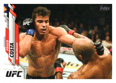 2020 Topps UFC 9 Paulo Costa - Middleweight