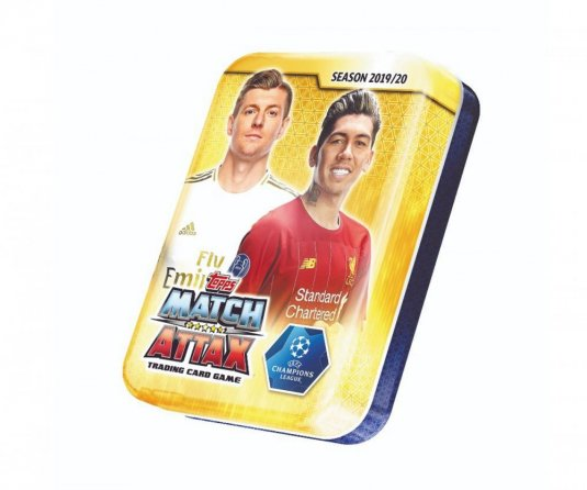 2019-2020 Topps Match Attax Champions League plechovka