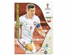 Fotbalová kartička Panini Adrenalynl XL World Cup Russia 2018 Team Mate 269 Robert Lewandowski Poland