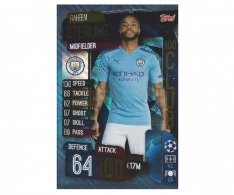 Fotbalová kartička 2019-2020 Topps Match Attax Champions League 100 Club Raheem Sterling 8 Manchester City
