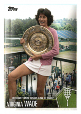 2019 Topps Tennis Hall of Fame 27 Virginia Wade