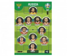 Panini Adrenalyn XL UEFA EURO 2020 Line Up 297 Russia