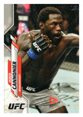 2020 Topps UFC 27 Jared Cannonier - Middleweight