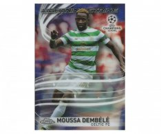 Fotbalová kartička Topps Chrome 2017-18 Champions League Lightning Strike LS-MD Moussa Dembele Celtic FC