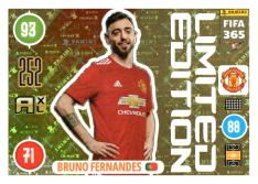 Panini Adrenalyn XL FIFA 365 2021 Limited Edition Bruno Fernadnes Manchester United