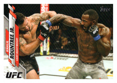 2020 Topps UFC 30 Khalil Rountree Jr. - Light Heavyweight