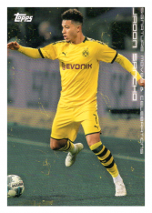 2020 Topps Borussia Dormund Signature Moves & Celebrations 35 Jadon Sancho