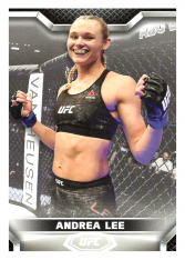 2020 Topps UFC Knockout 66 Andrea Lee - Flyweight