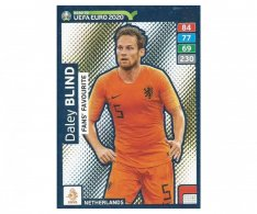 Fotbalová kartička Panini Adrenalyn XL Road to EURO 2020 -  Fans Favourite - Daley Blind - 259