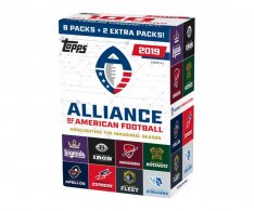 2019 Topps Alliance of American Football Blaster Box