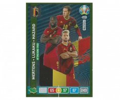 Panini Adrenalyn XL UEFA EURO 2020 Multiple Attacking Trio 445 Mertens Lukaku Hazard Belgium