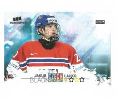 Hokejová kartička Czech Ice Hockey Team 50. Jakub Lauko