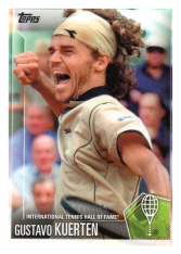 2019 Topps Tennis Hall of Fame 9 Gustavo Kuerten