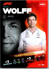 2021 Topps Formule 1 Turbo Attax Principal Card 184 Toto Wolf Mercedes AMG
