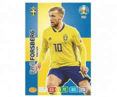 Panini Adrenalyn XL UEFA EURO 2020 Team mate 329 Emil Forsberg Sweden
