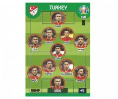 Panini Adrenalyn XL UEFA EURO 2020 Line Up 351 Turekey
