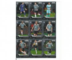 2019-20 Panini Prizm Premier League Týmový set Newcastle United 13 karet