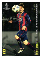 2020 Topps LM Greatest Goals Lionel Messi Goal vs. Bayern Munich