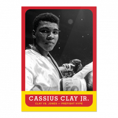 Sběratelská Kartička 2021 Topps MUHAMMAD ALI - The People's Champ 5. Cassius Clay Jr.