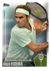 2019 Topps Tennis Hall of Fame 1 Roger Federer
