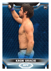 2020 Topps UFC Knockout 83 Kron Gracie RC - Featherweight /75