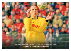 2020 Topps Borussia Dormund Legends 45 Jan Koller