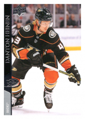 2020-21 UD Series One 2 Danton Heinen - Anaheim Ducks