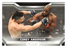 2020 Topps UFC Knockout 45 Corey Anderson - Light Heavyweight