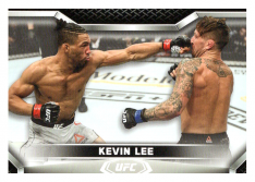 2020 Topps UFC Knockout 41 Kevin Lee - Lightweight