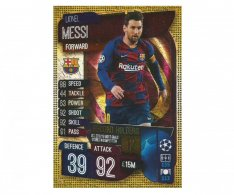 Fotbalová kartička 2019-2020 Topps Match Attax Champions League Lionel Messi Record holders RH 1
