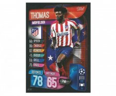 Fotbalová kartička 2019-2020  Topps Champions League Match Attax - Thomas - Atletico Madrid 14