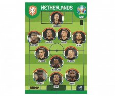 Panini Adrenalyn XL UEFA EURO 2020 Line Up 243 Netherlands