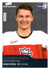 2019-20 Czech Ice Hockey Team 76 Adam Raška