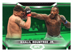 2020 Topps UFC Knockout 51 Khalil Rountree Jr. - Light Heavyweight /88