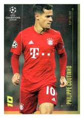 2020 Topps LM Top Talent Philippe Coutinho FC Bayern Munchen