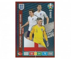 Panini Adrenalyn XL UEFA EURO 2020 Multiple The Wall 434 Pickford Maguire Keane