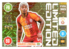 Panini Adrenalyn XL FIFA 365 2021 Limited Edition Mario Lemina Galatasaray
