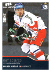 2019-20 Czech Ice Hockey Team 8 Marek Hrbas
