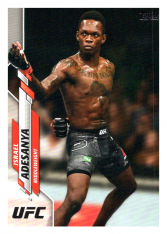 2020 Topps UFC 75 Israel Adesanya - Middleweight