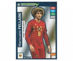 Fotbalová kartička Panini Adrenalyn XL Road to EURO 2020 -  Fans Favourite - Marouane Felliani - 236