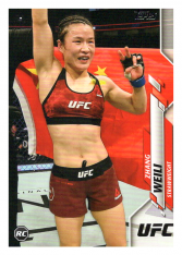 2020 Topps UFC 87 Zhang Weili - Strawweight RC